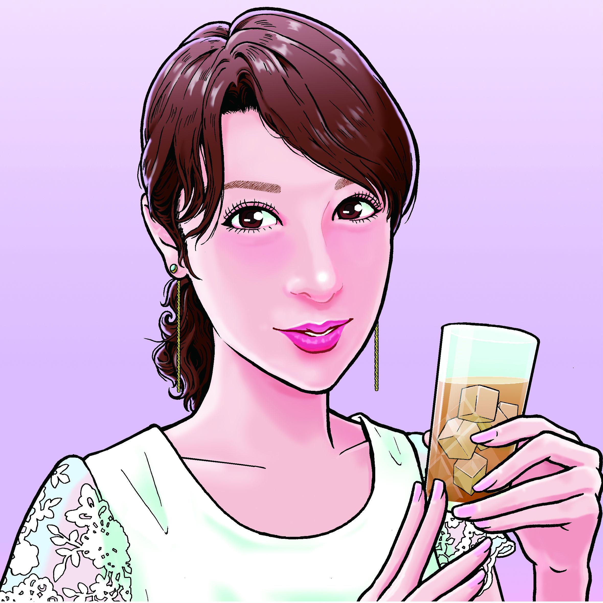 「串と美人2」第2回 恵さん(28歳/銀行員)