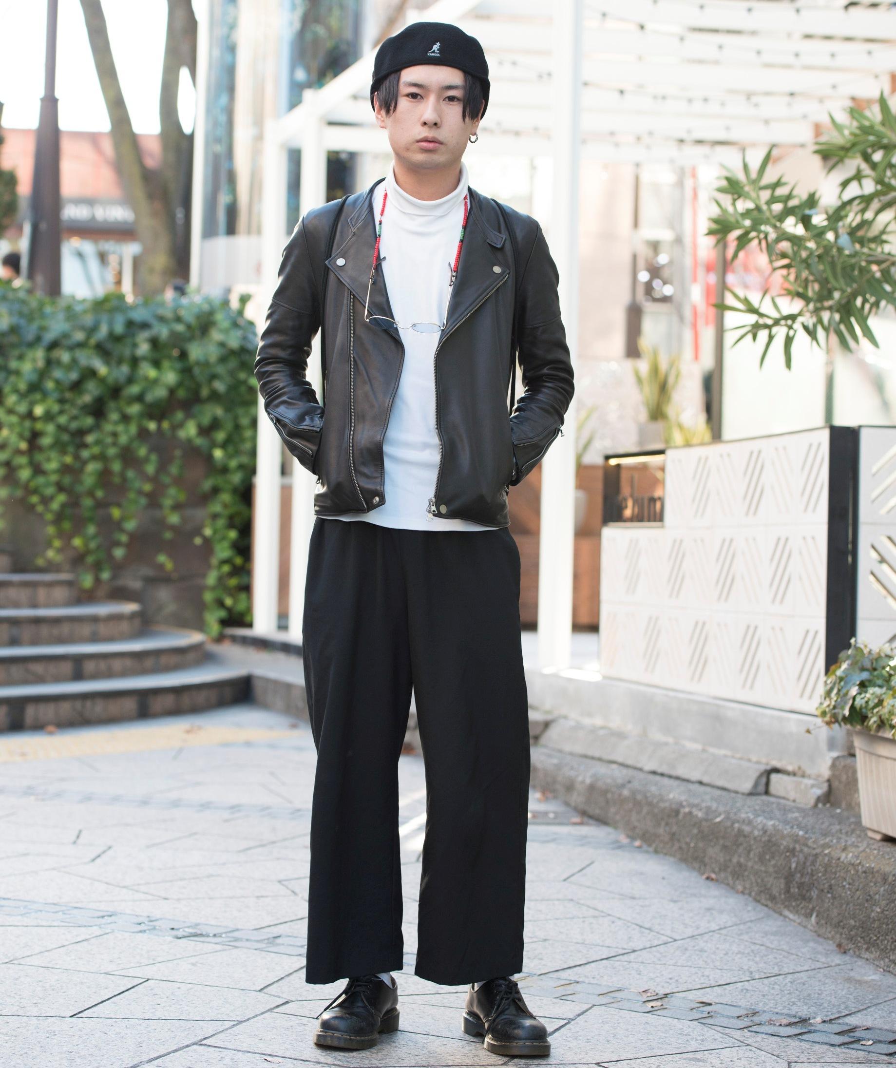 【SNAP JACK】高難度シルエットをなじませる<br />坂本広志くん・大学生