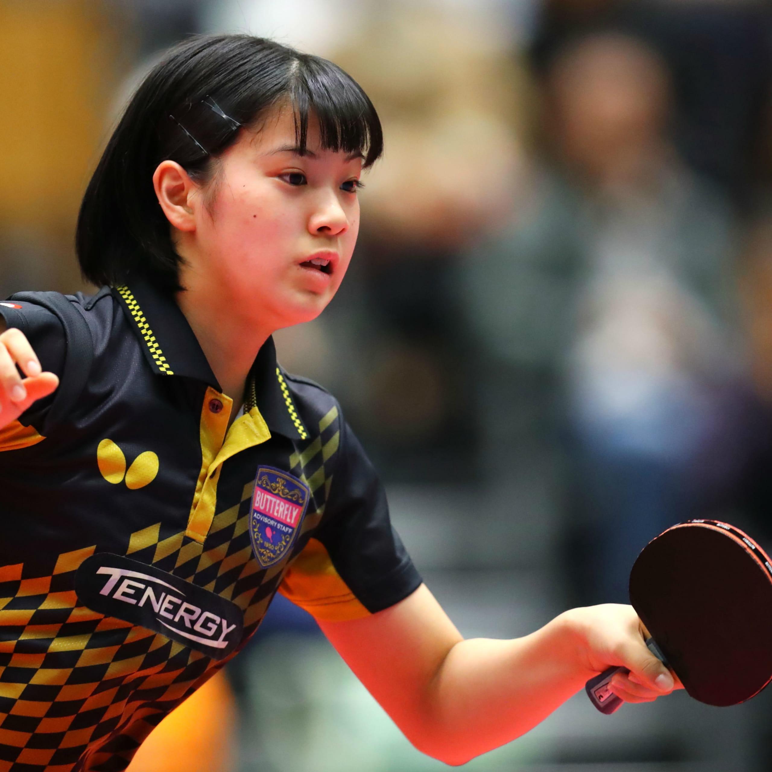 石川佳純、「みうみまひな」だけじゃない!卓球女子、15歳の新星も。