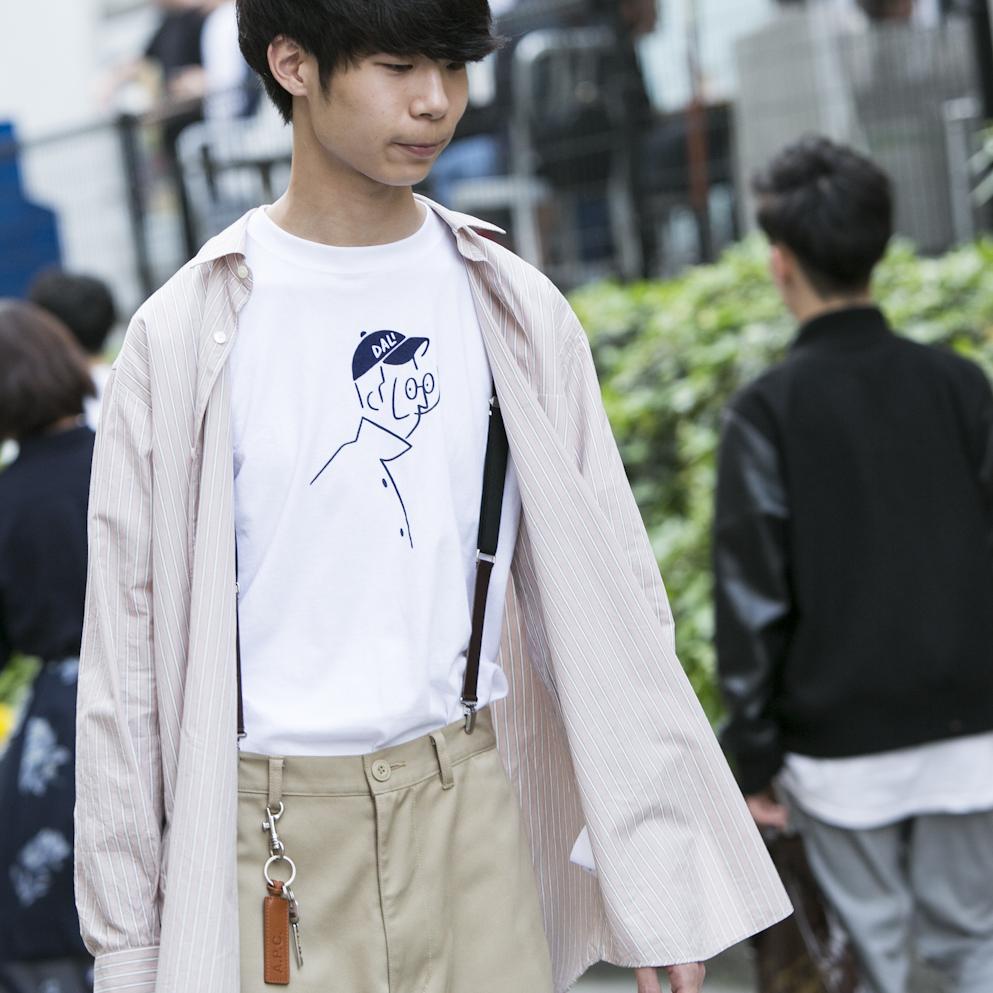 20歳・博也「今は安い服を買うようになって、市場が縮小してる感じ」【18-22 SNAP #041】