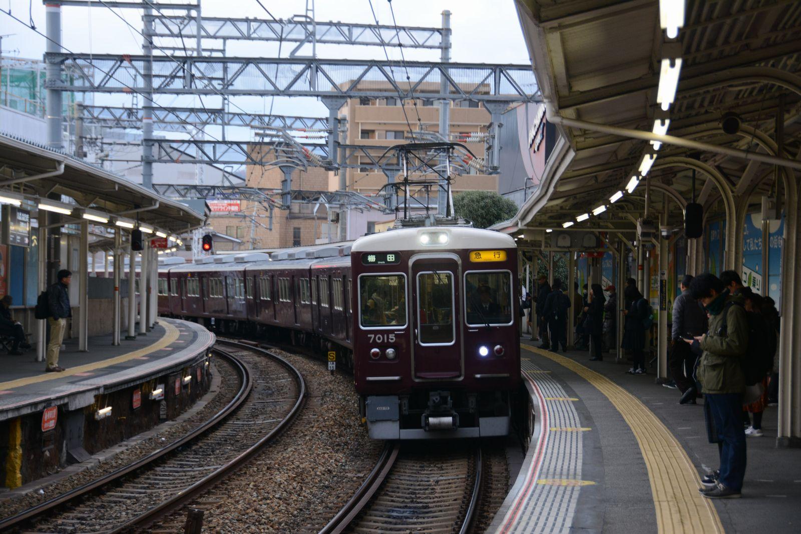 阪神&阪急電車のミニ路線巡り(2)