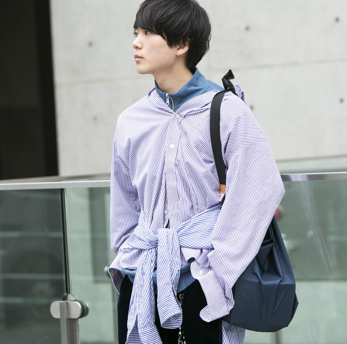 20歳・夕也「好きなブランドは特にないけど、古着屋にはよく行きます」【18-22 SNAP #022】