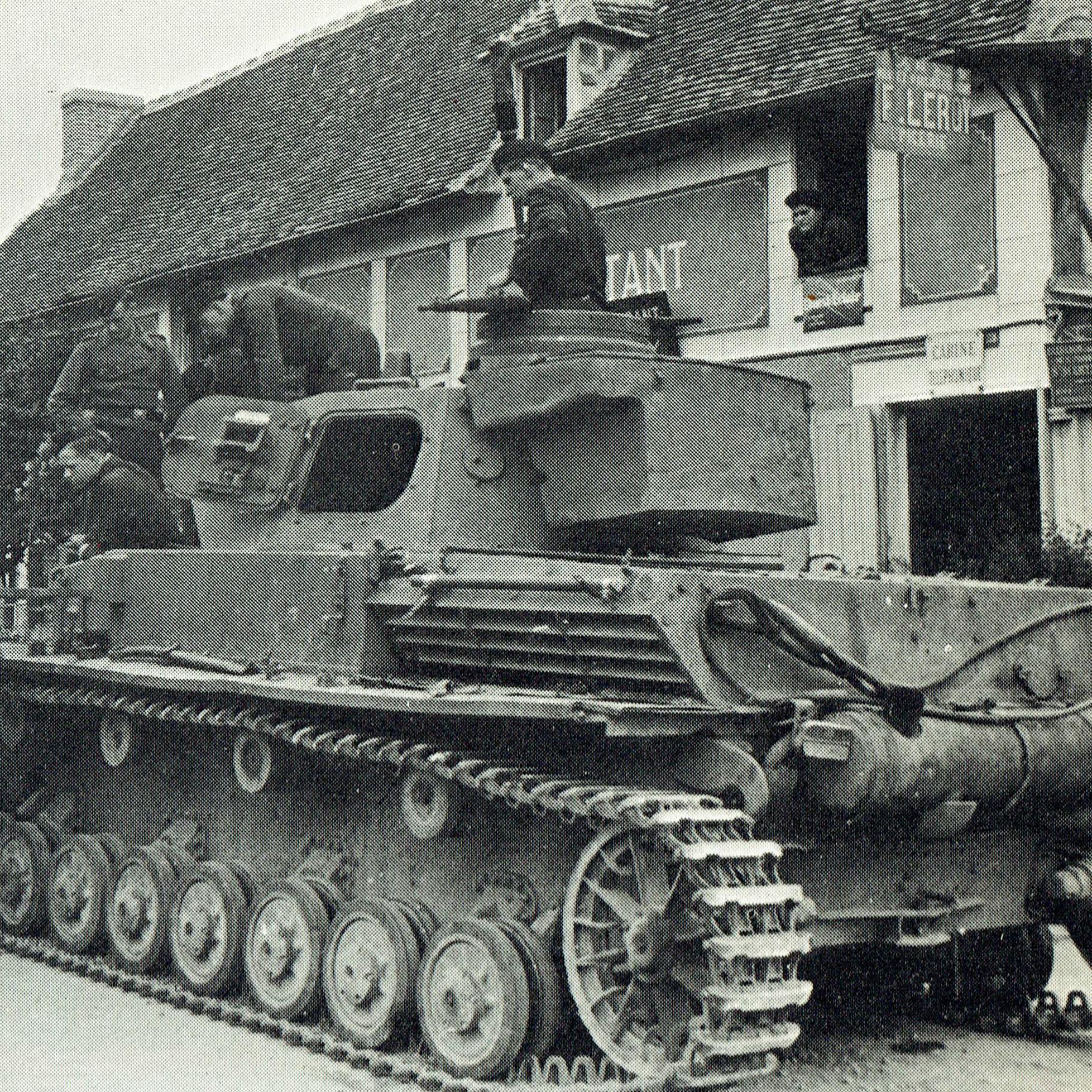 ノルマンディー地区に展開したドイツ軍3個装甲師団の戦力の高さ