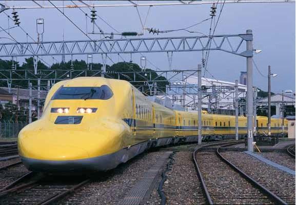 見たことありますか?幸せの黄色い新幹線ドクターイエロー<br />