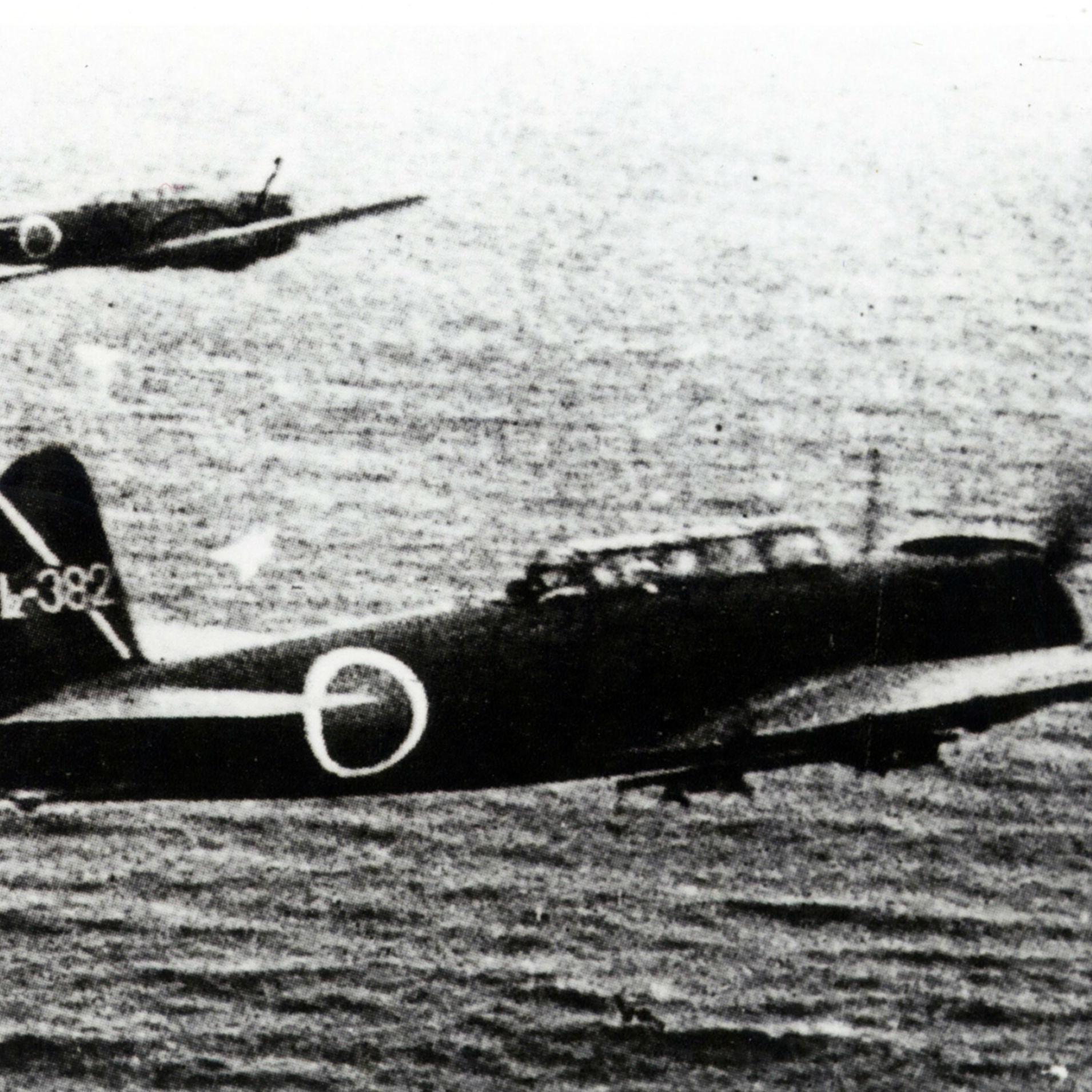 ミッドウェーでは主力空母4隻の損失とともに、優秀な搭乗員の損失がダメージに<br />