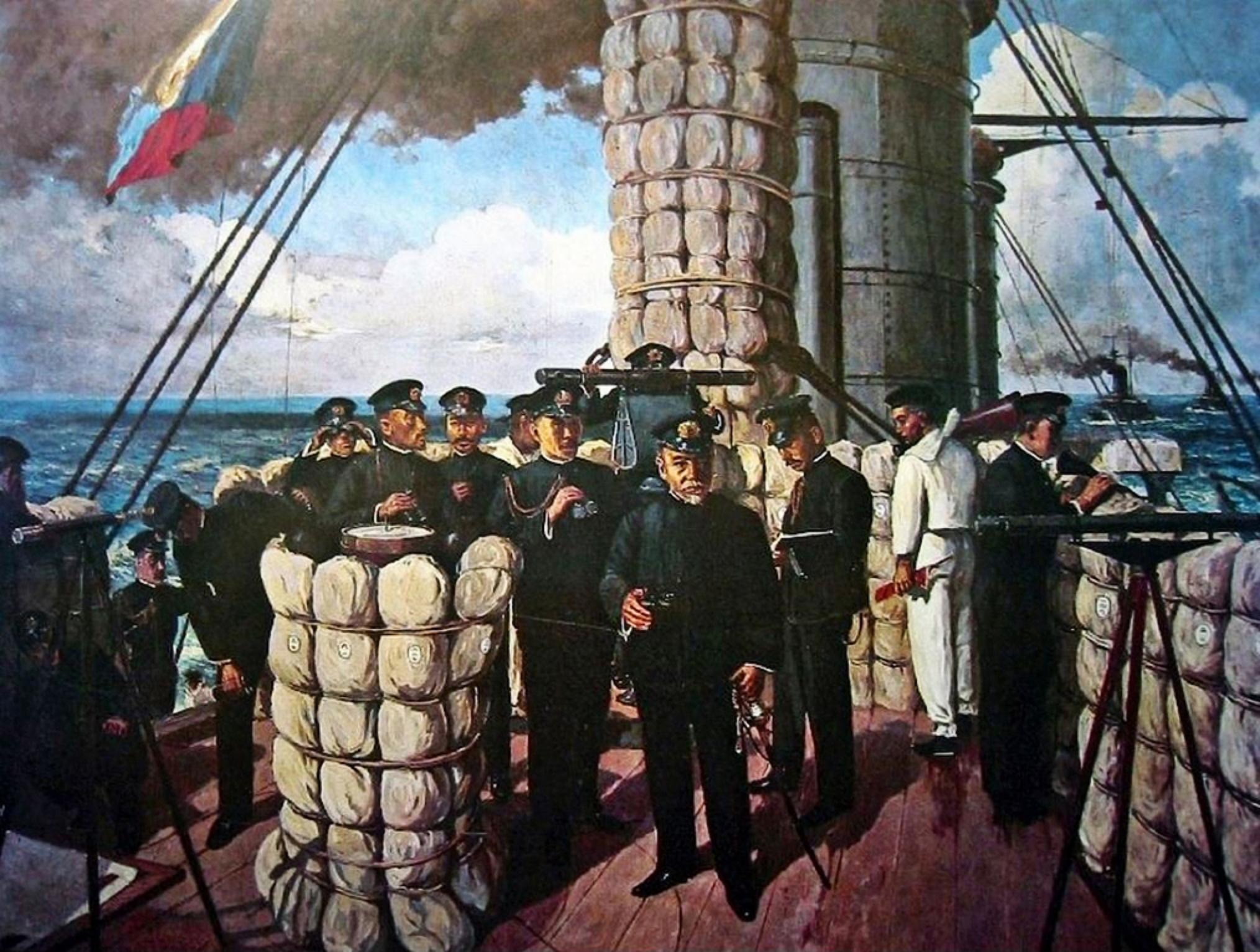 大国ロシアの艦隊が日本海で壊滅!<br />驚愕のニュースが世界中を駆け巡る<br />