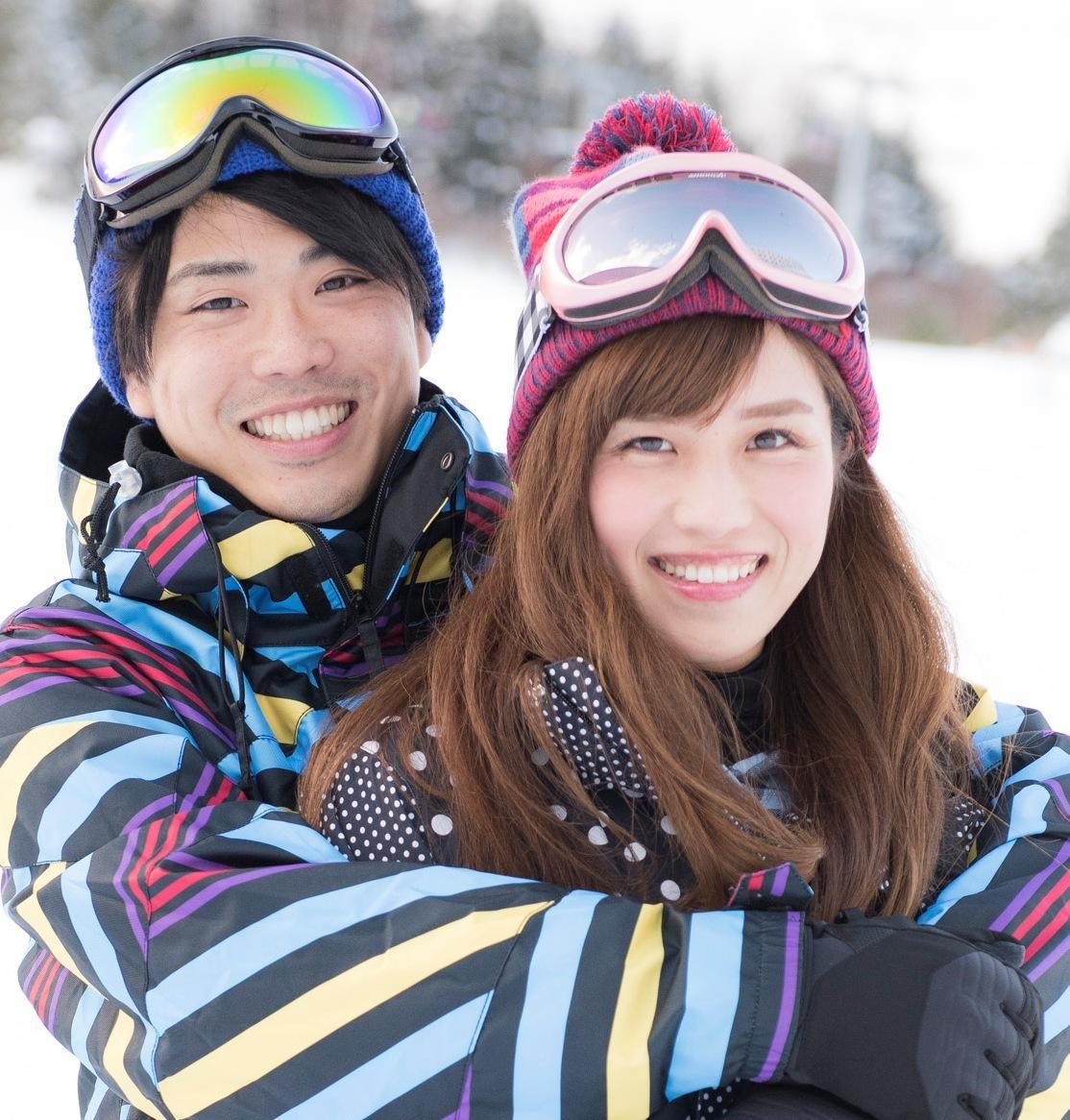 「冬が胸にきた」の桜井日奈子ちゃんを<br />ゲレンデで探しに、「俺が山にきた」<br />【カップル編】