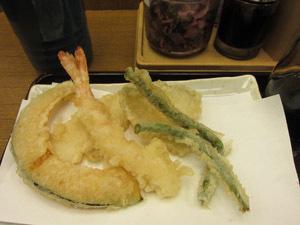 てんやで二度おいしい天ぷら定食