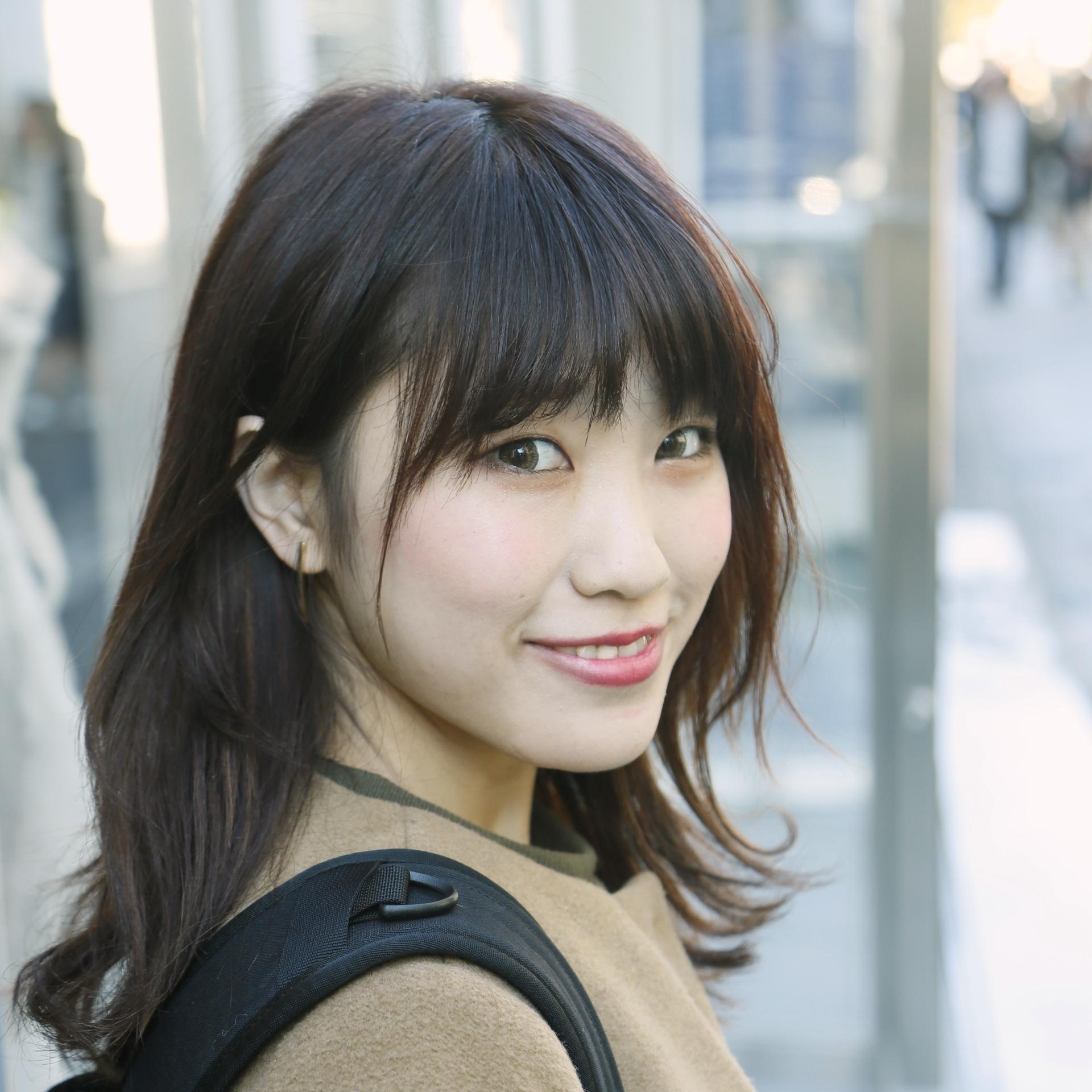 【女子SNAP】SJ美女図鑑<br />森 紫織さん・サロンスタッフ