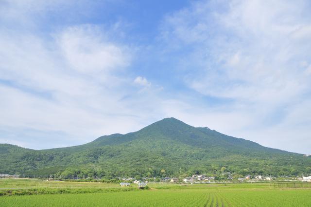 日本一の山と並び称される名低山