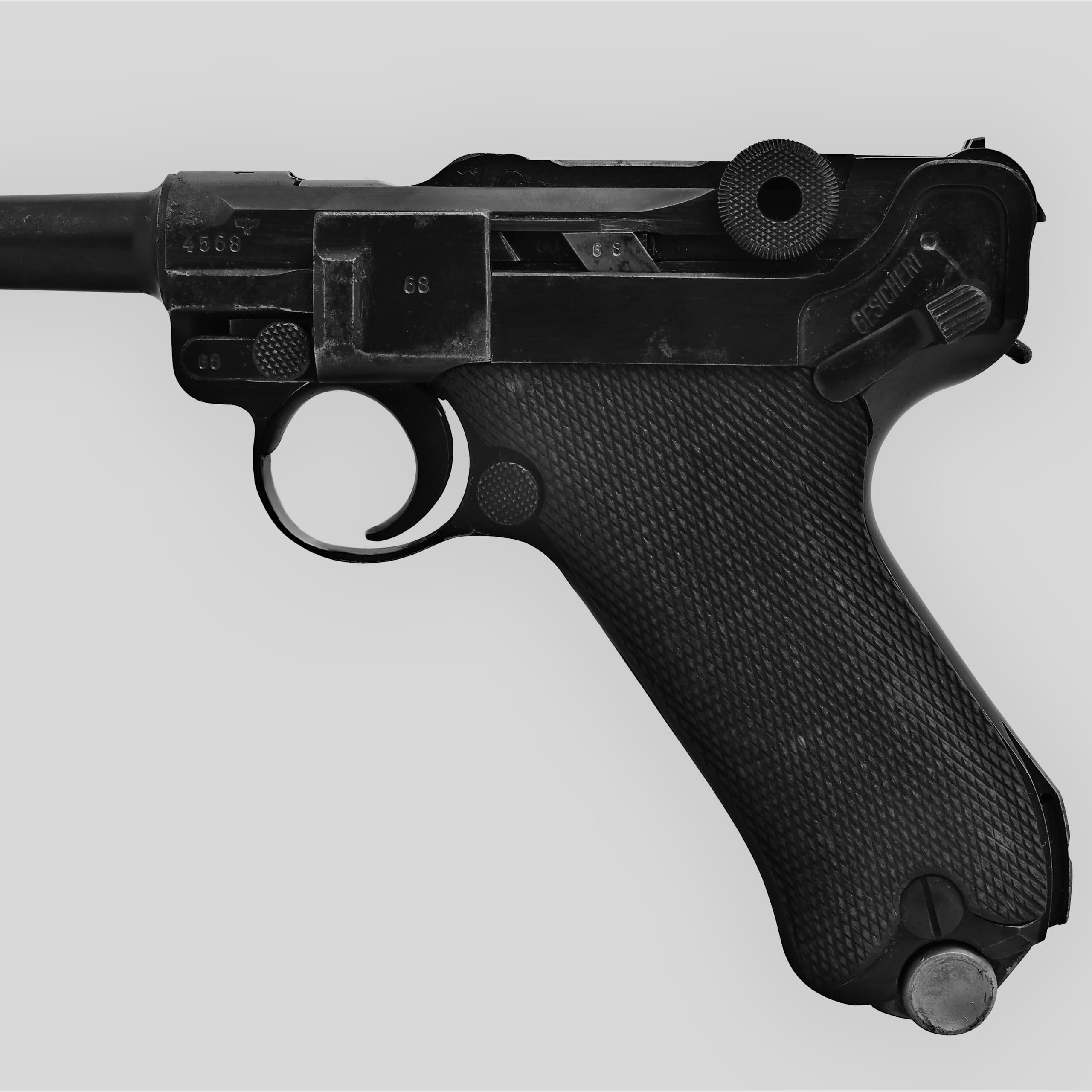 ルガーP08(パラベラム・ピストル)~銃器先進国ドイツが生んだ伝説の名銃~
