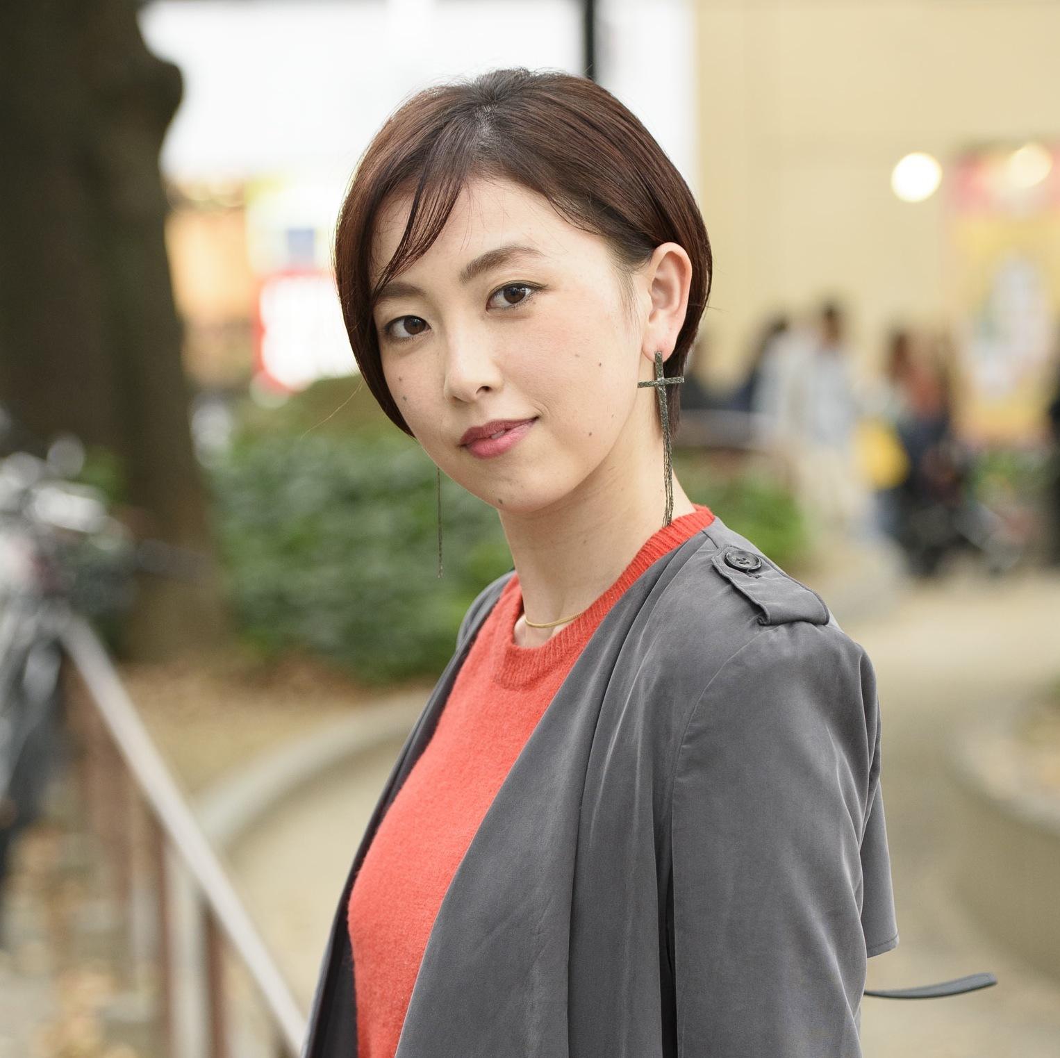 【女子SNAP】SJ美女図鑑<br />大人の色気が美しいショートカット名古屋美人<br />井上麻美さん・主婦
