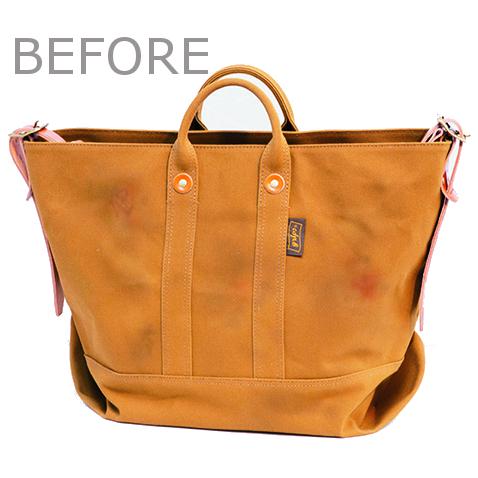 「キャンバス地トートバッグ」を10年愛用するためのお手入れ術
