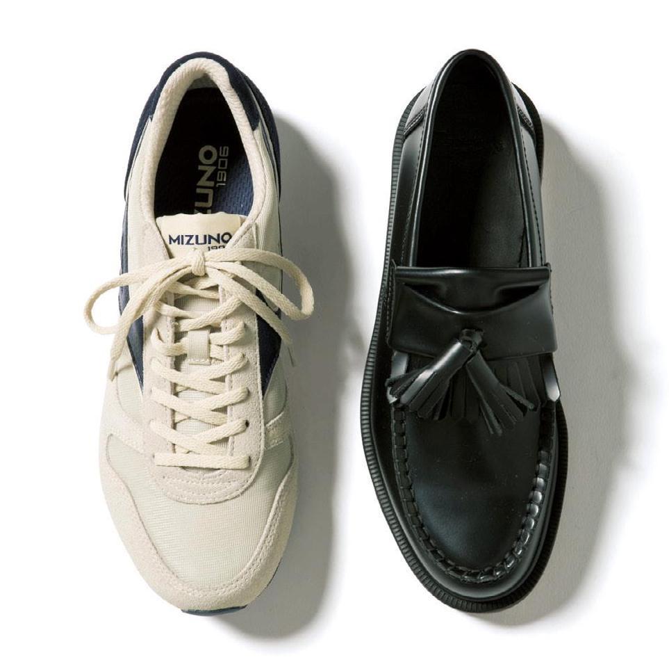 一緒に買うならこのコンビ! スニーカーと革靴の相性診断ベスト3