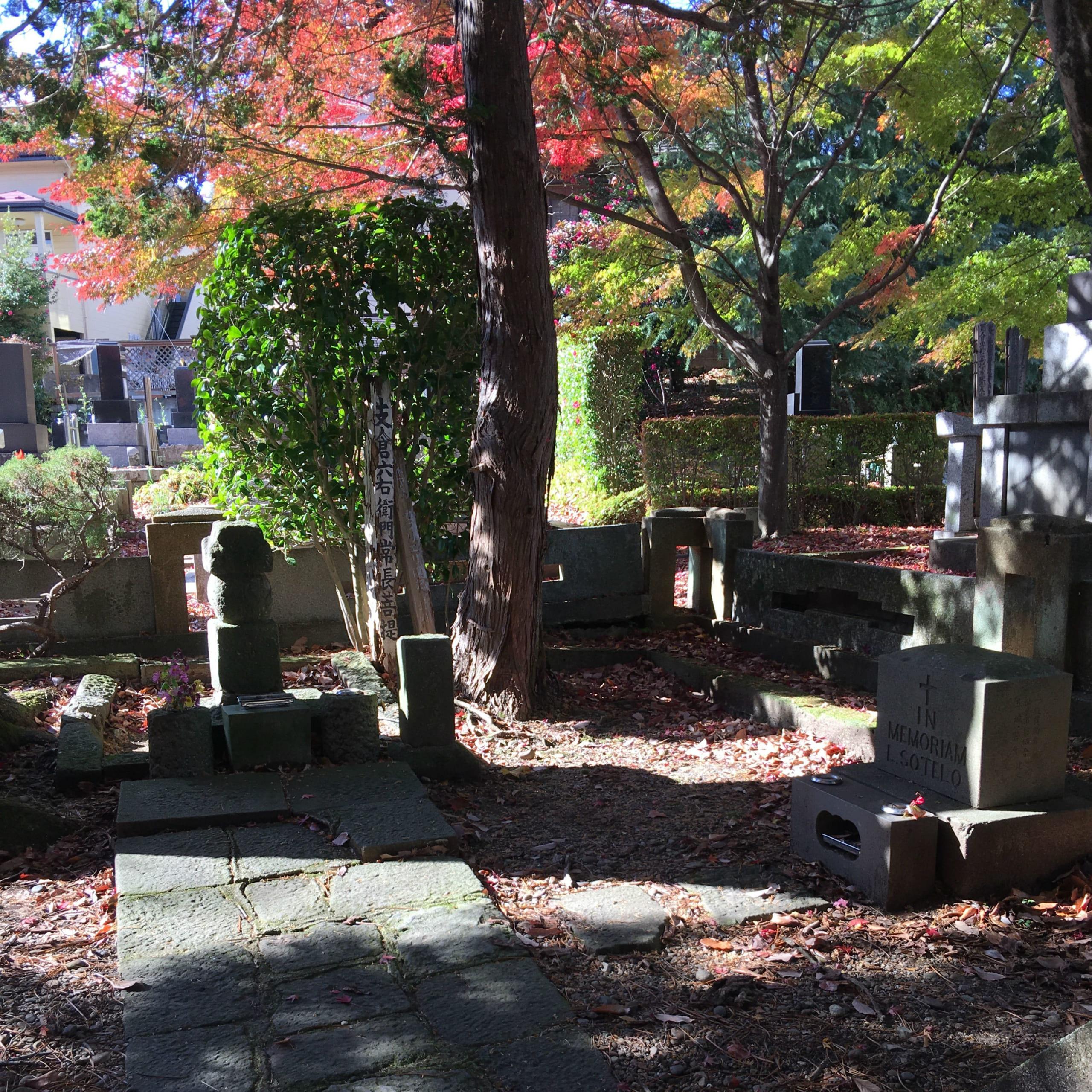 松蔭山光明寺 境内の墓地に眠る伊達政宗ゆかりの人々
