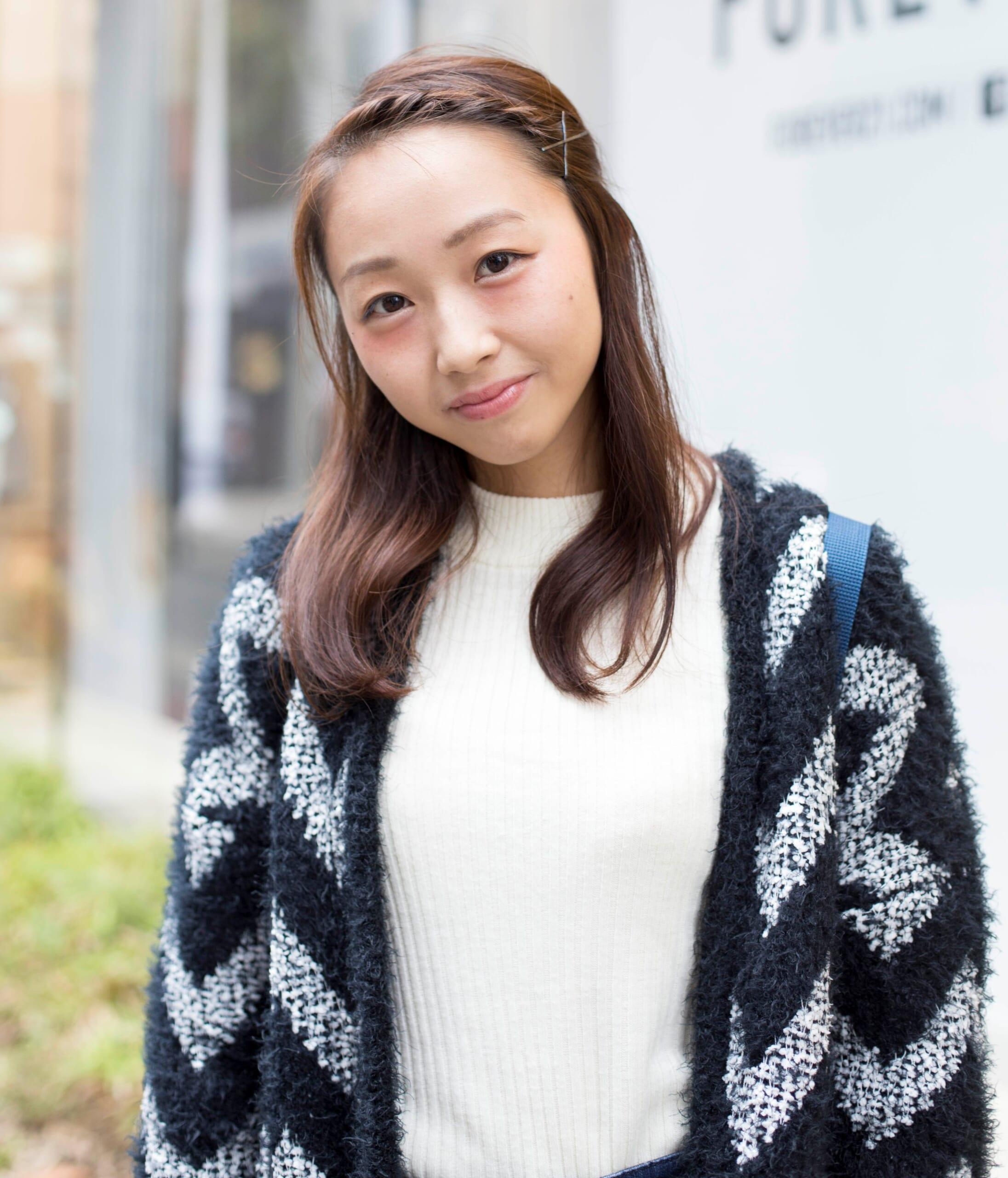 【女子SNAP】SJ美女図鑑<br />フワカワな福岡娘♪<br />築地綾乃さん・大学生