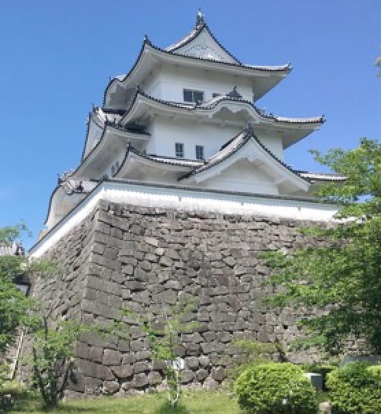 伊賀から伊勢へ①伊賀上野城(壱)<br />