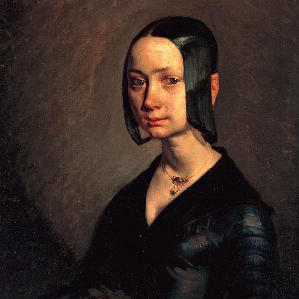 夭折した妻を描いた、ミレー版、愛の《モナ・リザ》