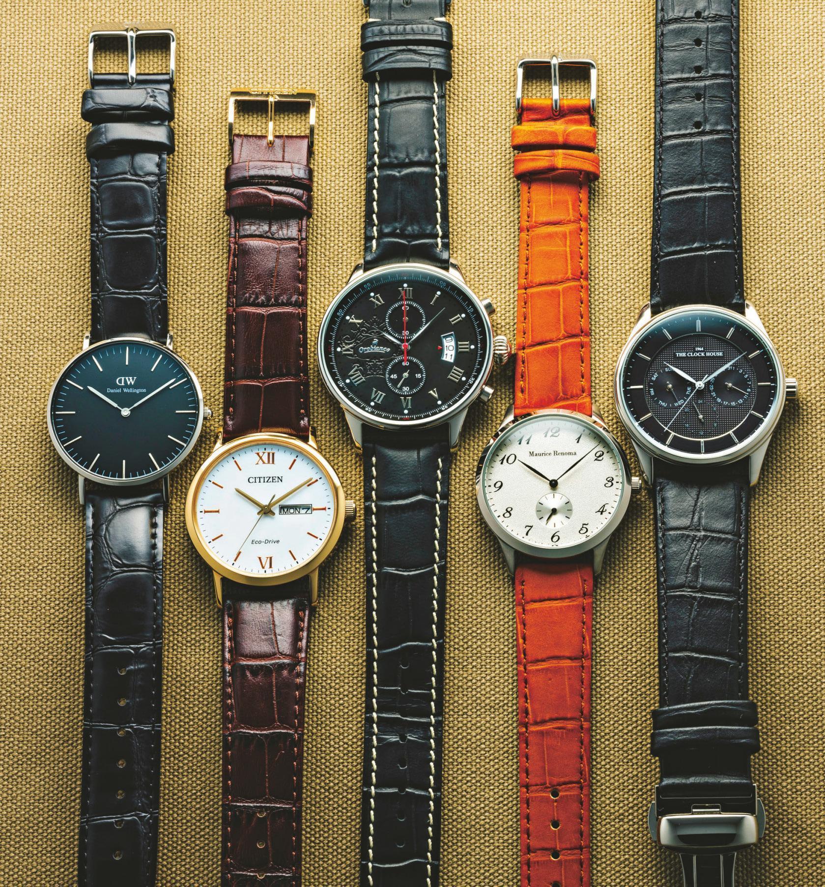 3万円以下で高級時計に見える革ベルト時計5選<br />