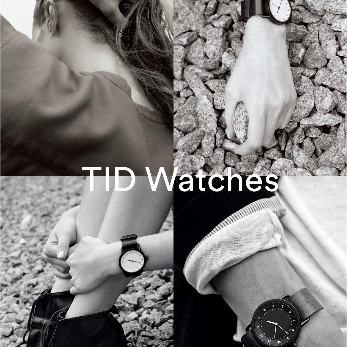 """時を経ても変わらない""""本物""""をこの機会に!<br />デルフォニックス全店でTID Watchesフェアを開催!"""