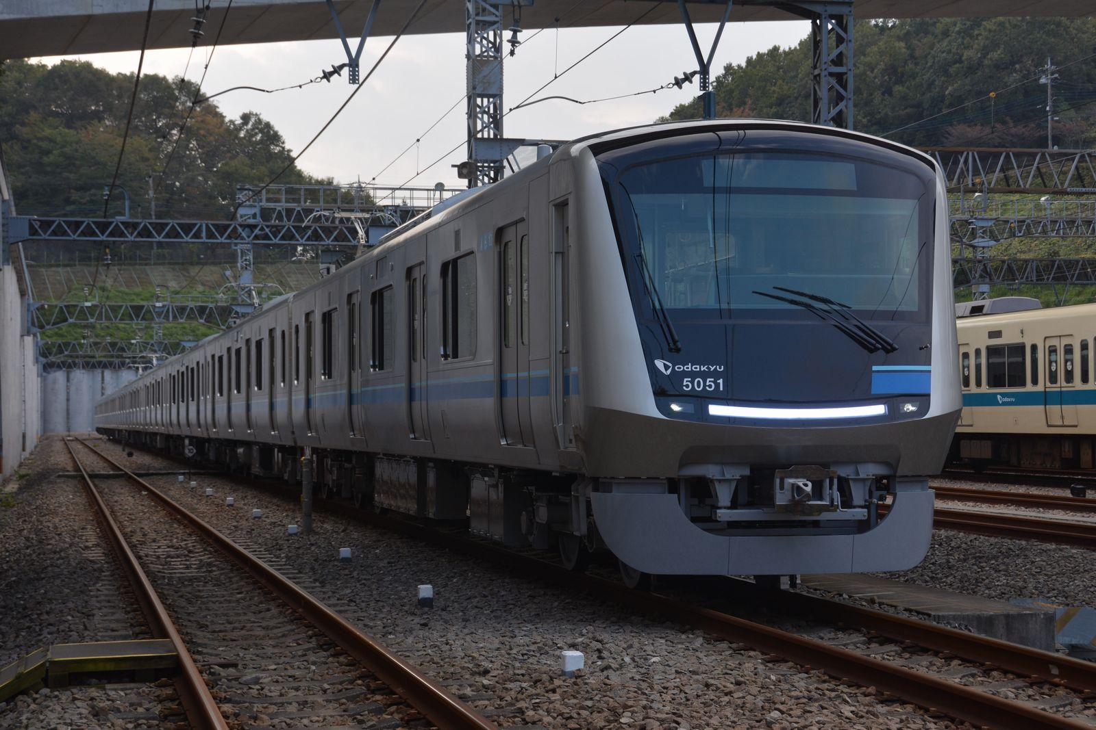 小田急の新型通勤車両5000形のお披露目会に参加