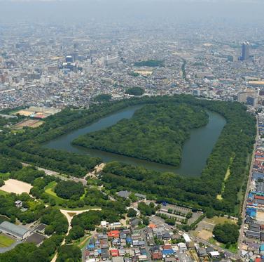 世界最大の墳墓・大仙陵とは?