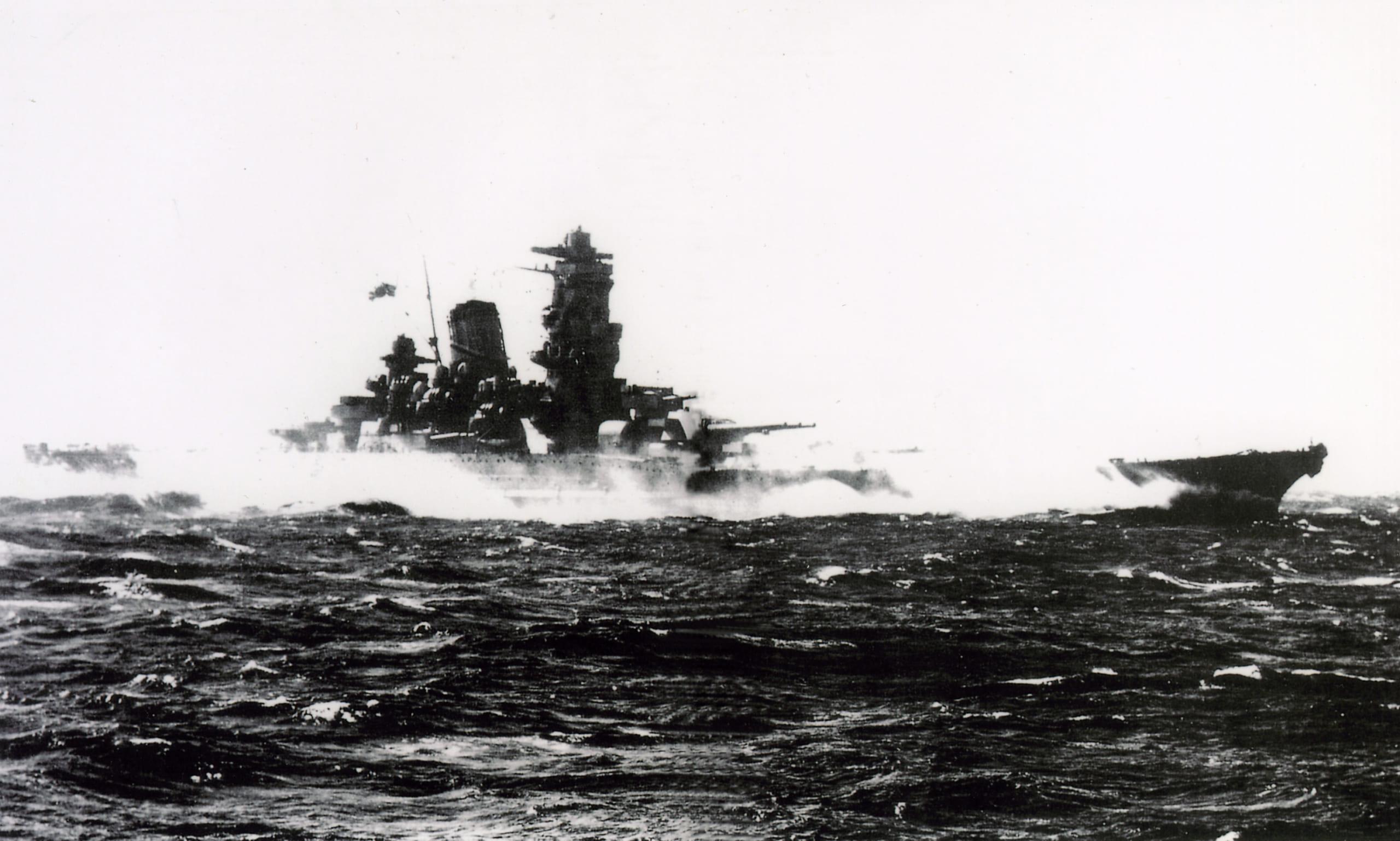 戦艦大和をつかった<br />沖縄殴り込み作戦を立案<br />