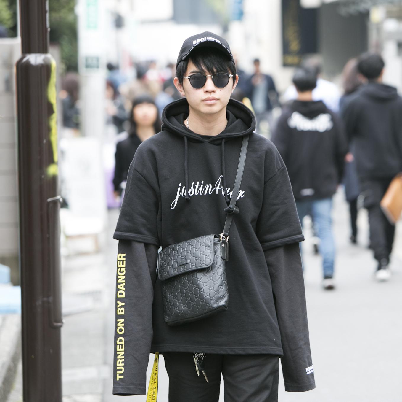 22歳・雄太郎「好きな服を着て外に出ると、?気分がとてもいいことを…」【18-22 SNAP #025】