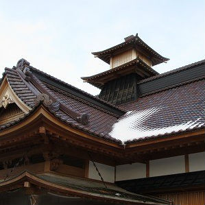 雪の五稜郭と北海道の銭湯