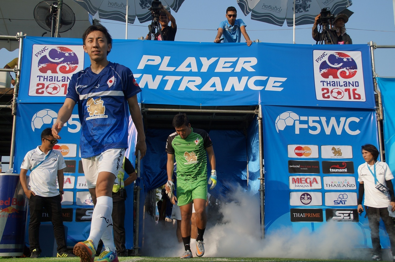 SJ専属モデルも出場した5人制サッカーの<br />世界大会「F5WC」が今年も!!