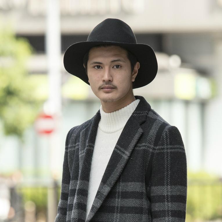 【SNAP JACK】22歳に見えない大人シックなコート使い!<br />船木圭太郎くん(大阪)