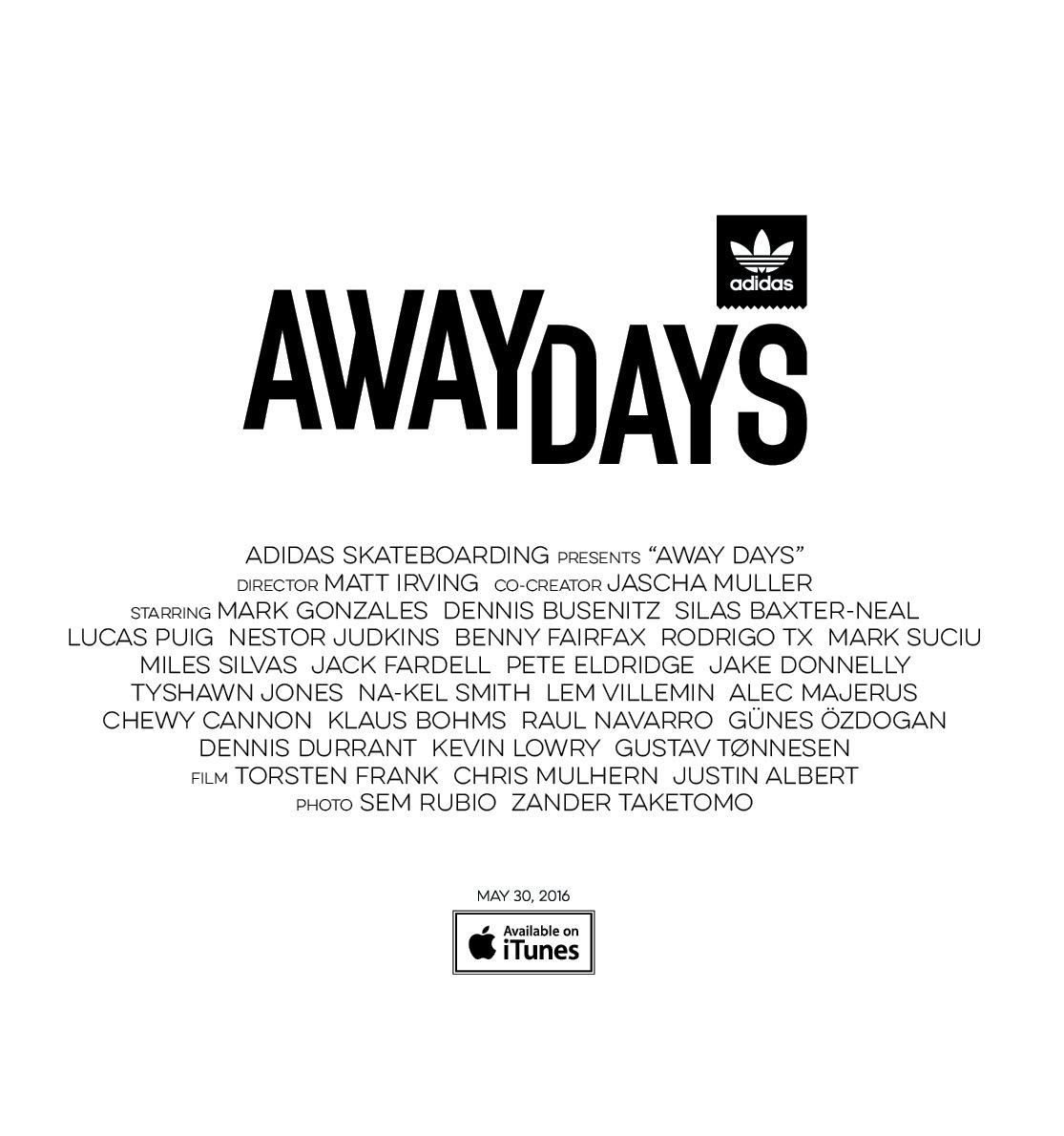マーク・ゴンザレスもやってきた!<br />「Away Days World Premiere Tokyo」開催<br />