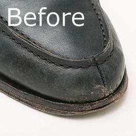 「レザー短靴」を10年愛用するためのお手入れ術<br />