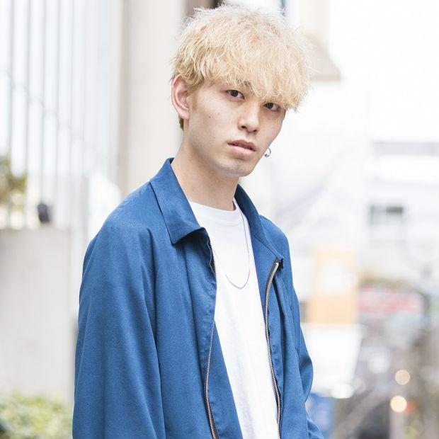 【SNAP JACK】今期注目のワイドシルエットを春らしいカラーで!!後藤大輝くん・OCEAN TOKYO WHITE 美容師