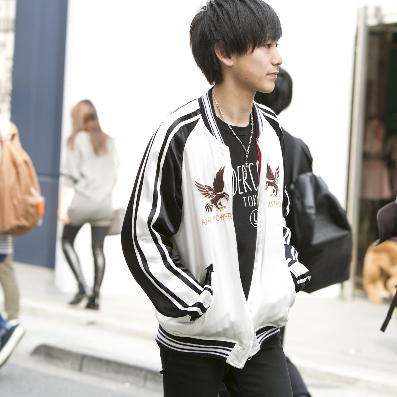 19歳・歩「登坂広臣さんをきっかけにシルバーアクセに興味が」【18-22 SNAP #020】