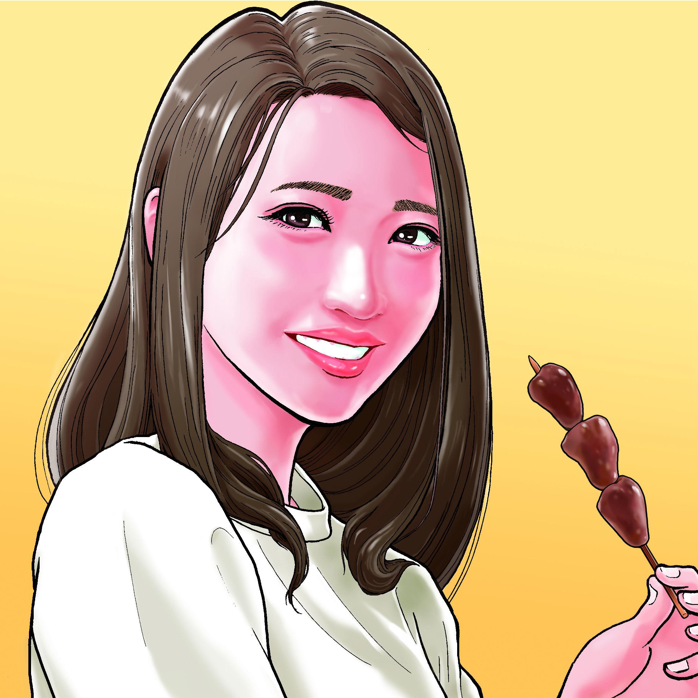 「串と美人2」第3回 うららさん(21歳/大学生)
