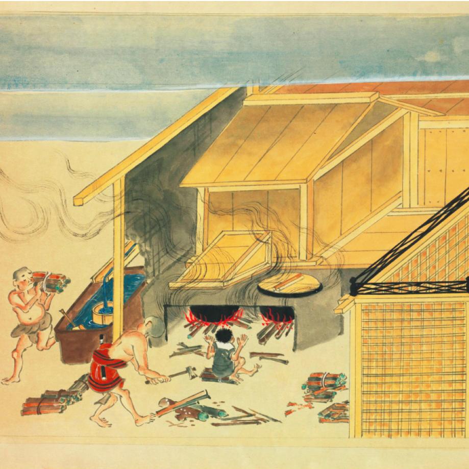 東大寺ではかつて、修行の一環として「お風呂の時間」が設けられていた
