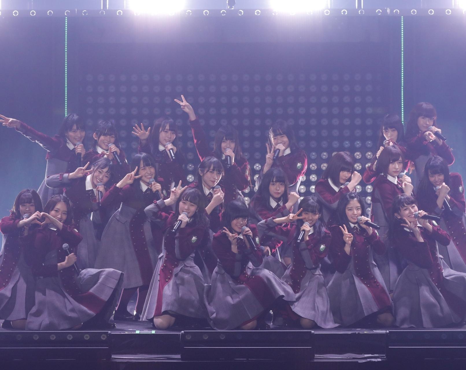 欅坂46。デビューから8ヵ月で<br />たどり着いた初ワンマンをレポート!!