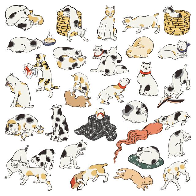 歌川国芳が「猫」を通して描いた江戸文化