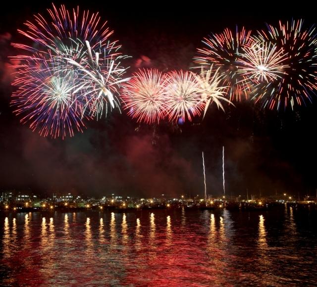 海外から絶賛される日本の花火