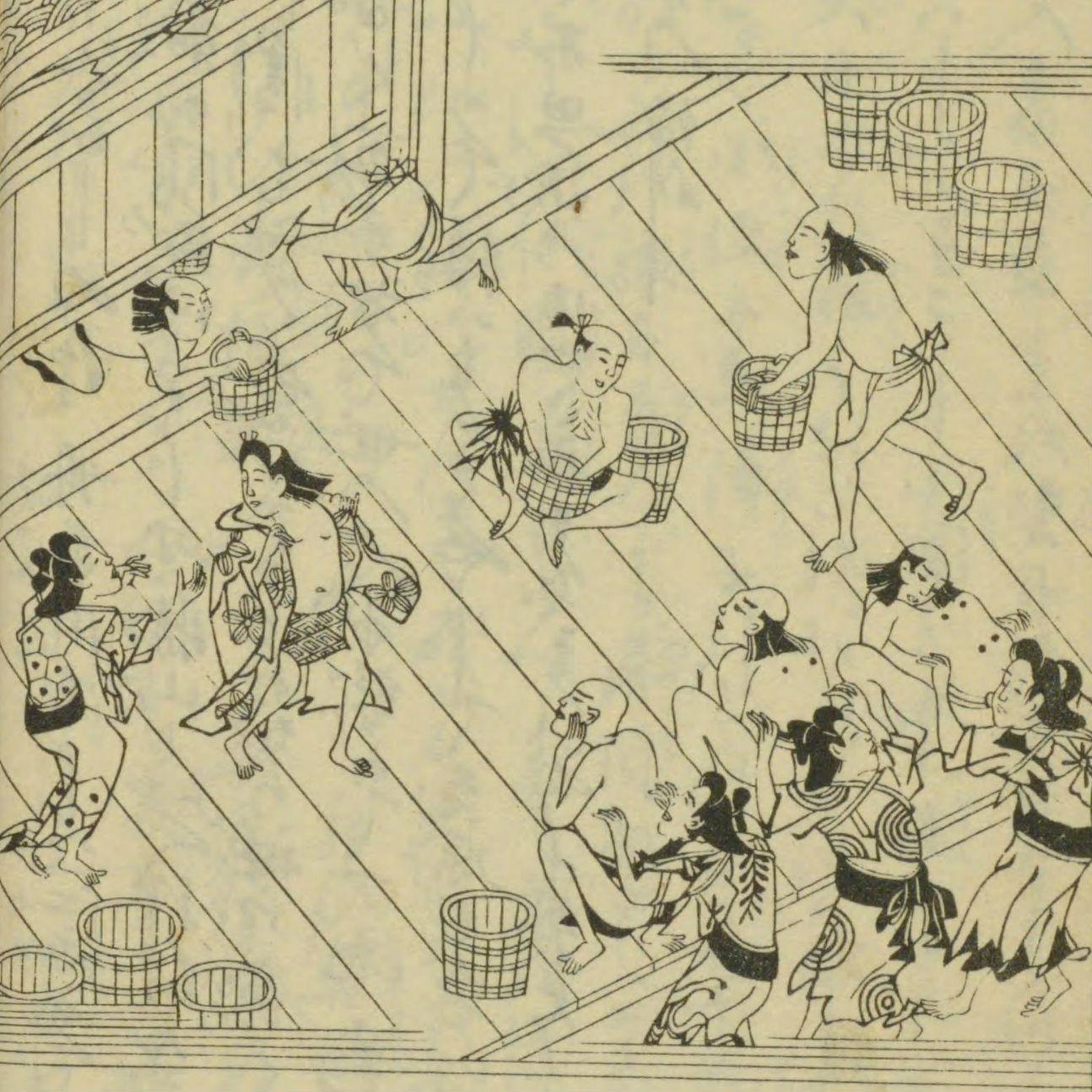 幕末の日本を訪れた外国人は混浴が好き? 嫌い?