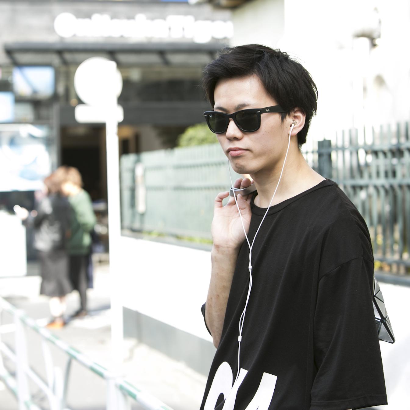 22歳・雄貴「服は消耗品。次の年には着ない」【18-22 SNAP #013】