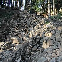 関東では珍しい石垣の城、太田金山城