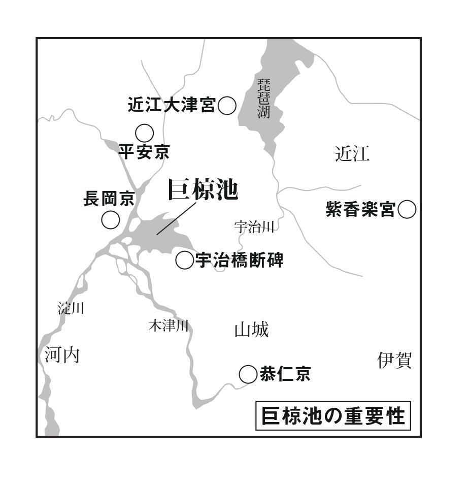 かつて京都に存在した巨大な湖。交通の要衝でもあった。その名は?