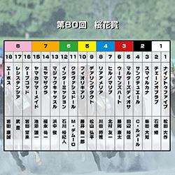 【桜花賞】M・デムーロ騎手が手の内に入れたクラヴァシュドールが桜を制す!