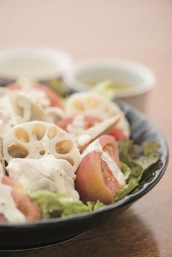 「鶏ささ身の温野菜サラダ」で嫁モテ!