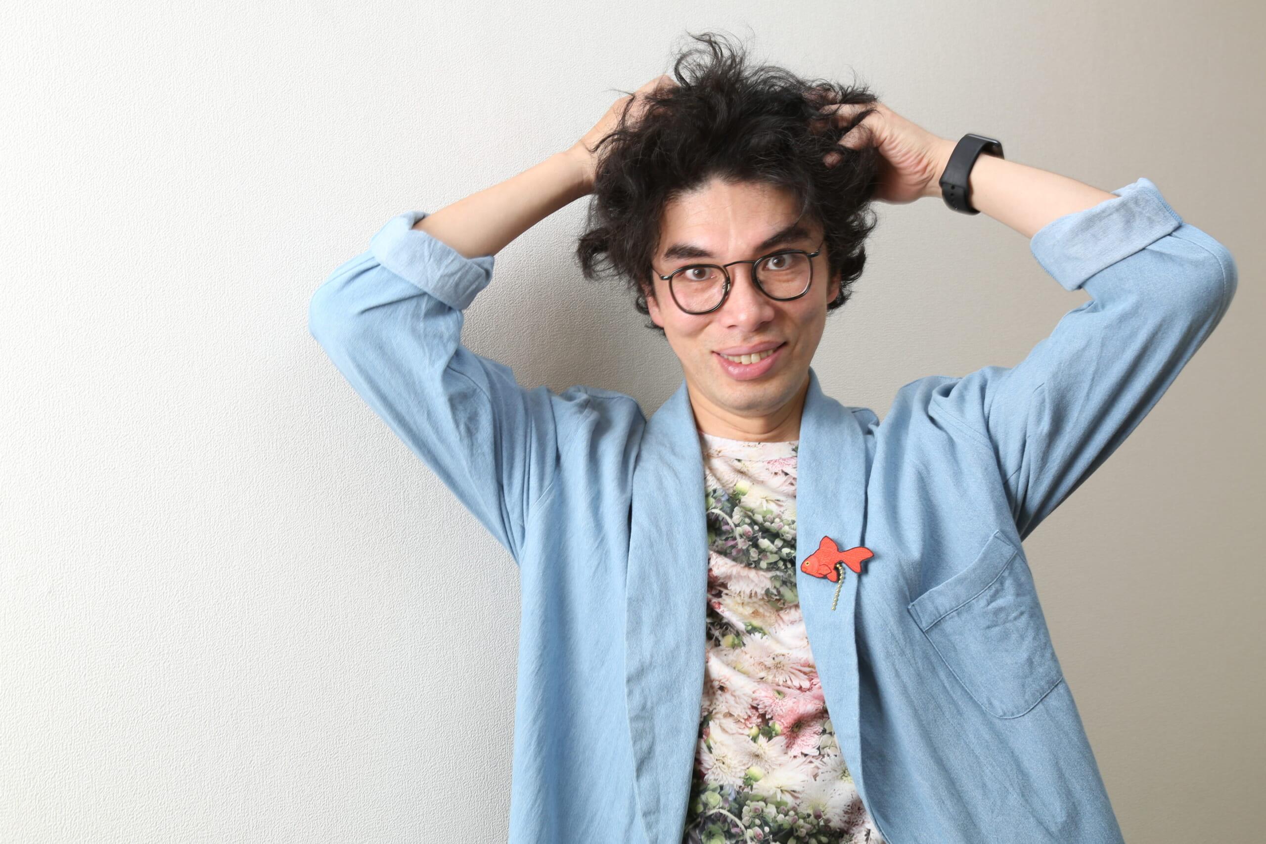 片桐仁「昔は吉田栄作さんみたいなサラサラヘアになりたかった」