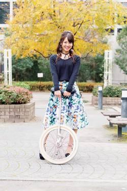 かわいすぎる一輪車の世界チャンピオン