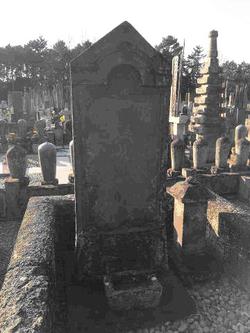 お墓に見える豪傑・小栗又一と奥様の夫婦関係