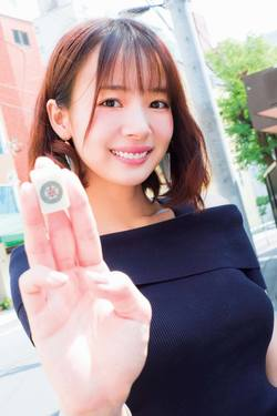 """発見!『non-no』専属モデル+プロ雀士の""""二刀流""""美女"""